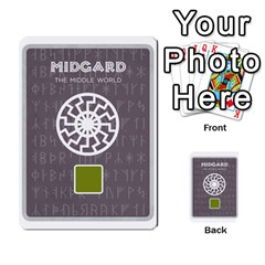 Ragnarok Card Game By Todd Sanders   Multi Purpose Cards (rectangle)   Lm081fs1ep0f   Www Artscow Com Front 30