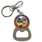 Gazbo bottle opener - Bottle Opener Key Chain