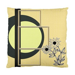 Sunflower Cushion Case By Daniela   Standard Cushion Case (two Sides)   Qayotsau1x81   Www Artscow Com Front