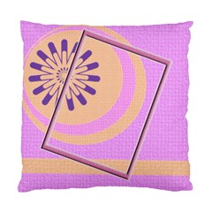Pink Orange Cushion Case By Daniela   Standard Cushion Case (two Sides)   25bv5scd4fgs   Www Artscow Com Front