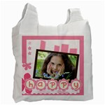 happy girl - Recycle Bag (One Side)