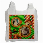 Boo - trick or treat bag - Recycle Bag (One Side)