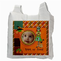 Trick Ortreat Recycle Bag 2 Sided By Snackpackgu   Recycle Bag (two Side)   Kkcmaz0s1uie   Www Artscow Com Back