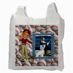 Baseball Recycle Bag By Snackpackgu   Recycle Bag (two Side)   Xvsheie3gfpe   Www Artscow Com Back