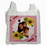 Flower bag - Recycle Bag (One Side)