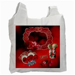 Red Love recycle bag - Recycle Bag (One Side)