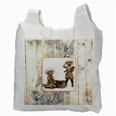 Mommy s Little Helpers Recycle Bag Double Sided By Catvinnat   Recycle Bag (two Side)   24n8uy3se4uc   Www Artscow Com Back