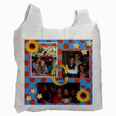 Amy s By Emily Langston   Recycle Bag (one Side)   Wr2bv3tq6xyc   Www Artscow Com Front