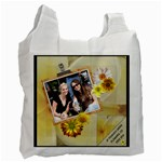 Friends & Flowers Recycle Bag - Recycle Bag (One Side)