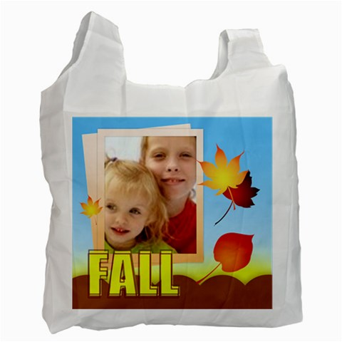 Fall By Joely   Recycle Bag (one Side)   P712ygzj93f7   Www Artscow Com Front