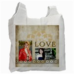 love of bag - Recycle Bag (One Side)