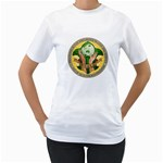 PAULS SHIRT - Women s T-Shirt (White) (Two Sided)