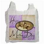 Happy Mothers Day Harlequin Recycle Bag 2 sides - Recycle Bag (Two Side)
