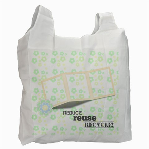 Reduce, Reuse, Recycle Bag By Purplekiss   Recycle Bag (one Side)   Ayh1iivzaxrn   Www Artscow Com Front