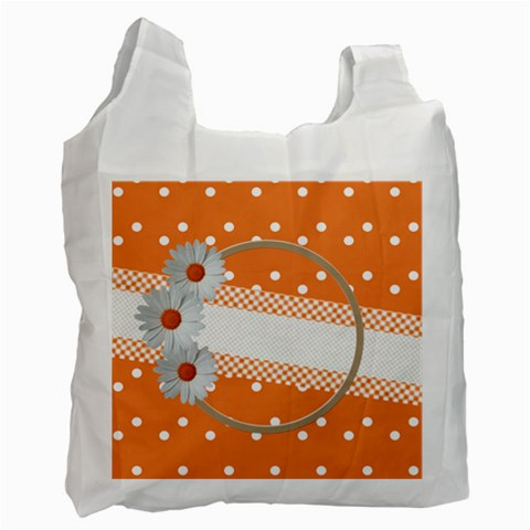 My Daisy Recycle Bag By Daniela   Recycle Bag (one Side)   L9mvvs7vpl7m   Www Artscow Com Front