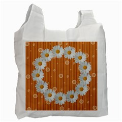 Daisy Daisy Recycle Bag By Daniela   Recycle Bag (two Side)   A9c8kcb283zo   Www Artscow Com Front