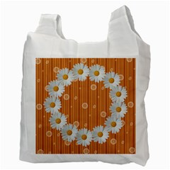 Daisy Daisy Recycle Bag By Daniela   Recycle Bag (two Side)   A9c8kcb283zo   Www Artscow Com Back
