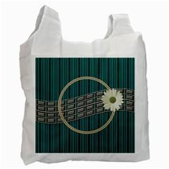 Green Recycle Bag By Daniela   Recycle Bag (two Side)   Oydm4u6fjidm   Www Artscow Com Front