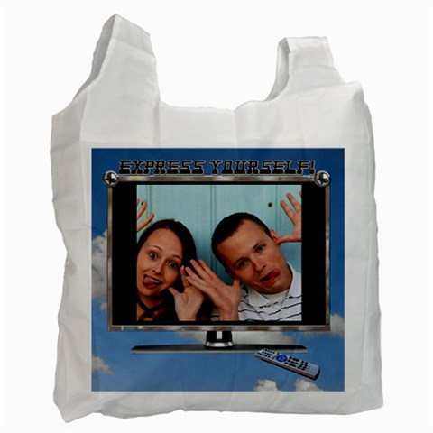 Express Yourself Recycle Bag By Lil    Recycle Bag (one Side)   5lmwkhiptvlt   Www Artscow Com Front