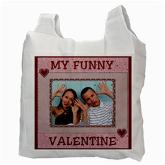 Be My Valentine 2 Sided Recycle Bag By Lil    Recycle Bag (two Side)   Qomc172543l1   Www Artscow Com Back