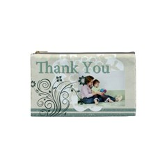 Thank You Bag By Joely   Cosmetic Bag (small)   41c71hf3chrn   Www Artscow Com Front