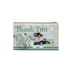 Thank You Bag By Joely   Cosmetic Bag (small)   41c71hf3chrn   Www Artscow Com Back