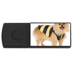Dog Photo Usb Flash Drive Rectangular (4 Gb) by adriantesting