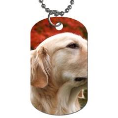 Dog Photo Cute Dog Tag (one Side) by adriantesting