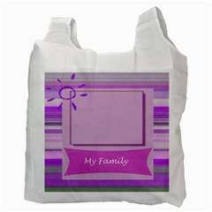 My Family Recycle Bag By Daniela   Recycle Bag (two Side)   Mpt7naz70sgp   Www Artscow Com Back