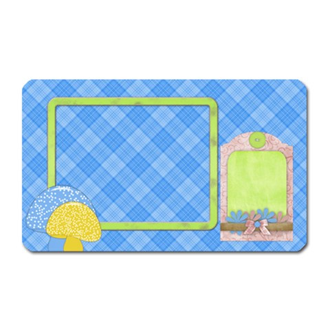 Spring Cuties Magnet 2 By Lisa Minor   Magnet (rectangular)   Z28dn1fnh994   Www Artscow Com Front