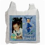 Blue Easter Bag 2 - Recycle Bag (One Side)