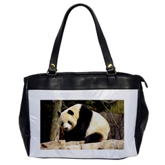 Giant Panda National Zoo Oversize Office Handbag (one Side)