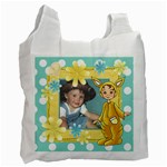 Easter yellow Bag - Recycle Bag (Two Side)