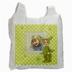 Lime Easter Bag By Lillyskite   Recycle Bag (two Side)   Eeohssqq1vay   Www Artscow Com Front