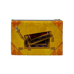 Magic Carpet Ride Medium Cosmetic Bag 1 By Lisa Minor   Cosmetic Bag (medium)   Ubzlgvto2kgf   Www Artscow Com Back