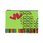 Love - Cosmetic BAG (L) - Cosmetic Bag (Large)
