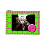 Cutie pie (perfect day) - Cosmetic BAG (L) - Cosmetic Bag (Large)