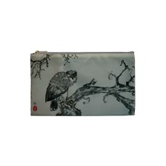 Eagle Two Sides By Trine   Cosmetic Bag (small)   Qy9zq0vd75ou   Www Artscow Com Front
