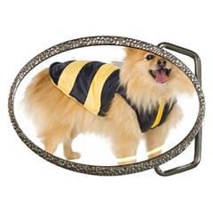 My-Dog-Photo Belt Buckle by knknjkknjdd