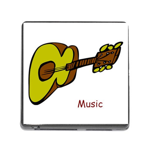 Music By Roger Baillargeon   Memory Card Reader (square)   Wh97gbtk8l3j   Www Artscow Com Front