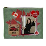 I Love Canada XL Cosmetic Bag - Cosmetic Bag (XL)