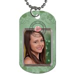 Kiss Me I m Irish Dog Tag - Dog Tag (One Side)