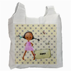 Lil Cutiez Bag 1 By Lillyskite   Recycle Bag (two Side)   T0xpmtyqphrd   Www Artscow Com Front