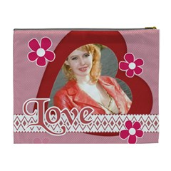 Big Love Bag By Joely   Cosmetic Bag (xl)   Gwcem08gaun4   Www Artscow Com Back