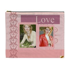 Big Love Bag By Joely   Cosmetic Bag (xl)   D2on81dcdrlt   Www Artscow Com Front
