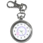 Pink Butterfly Keychain Watch - Key Chain Watch