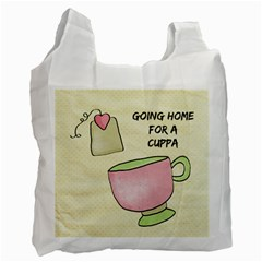 Cuppa By Lillyskite   Recycle Bag (two Side)   Hk7xrusogha0   Www Artscow Com Front