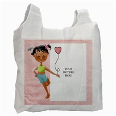 Friends By Lillyskite   Recycle Bag (two Side)   F1x51qxuu2rs   Www Artscow Com Front