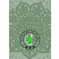 Irish For A Day 5x7 Greeting Card By Lil    Greeting Card 5  X 7    Kacdwf8fp93k   Www Artscow Com Back Cover