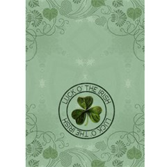 Get Lucky, Be Irish 5x7 Greeting Card By Lil    Greeting Card 5  X 7    Spllpt3wc1wj   Www Artscow Com Back Cover